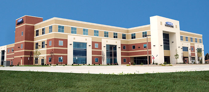 Northern Ohio Medical Specialists is a 2012 TCA Achievement Award winner, designed by LJB Inc. and built by TCA member Star Builders, Inc.