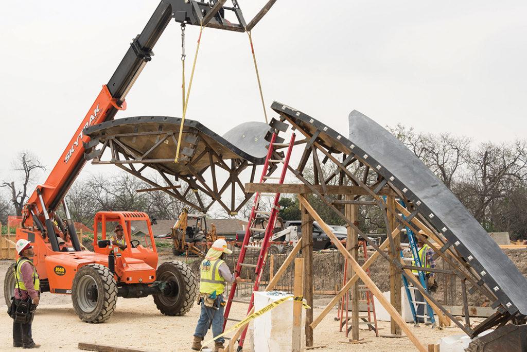 Design And Construction Of Confluence Park Tilt Up Today A Publication Of The Tilt Up Concrete Association Tca