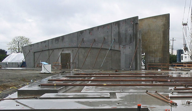 Surface Preparation of Tilt-Wall Panels Prior to Coating