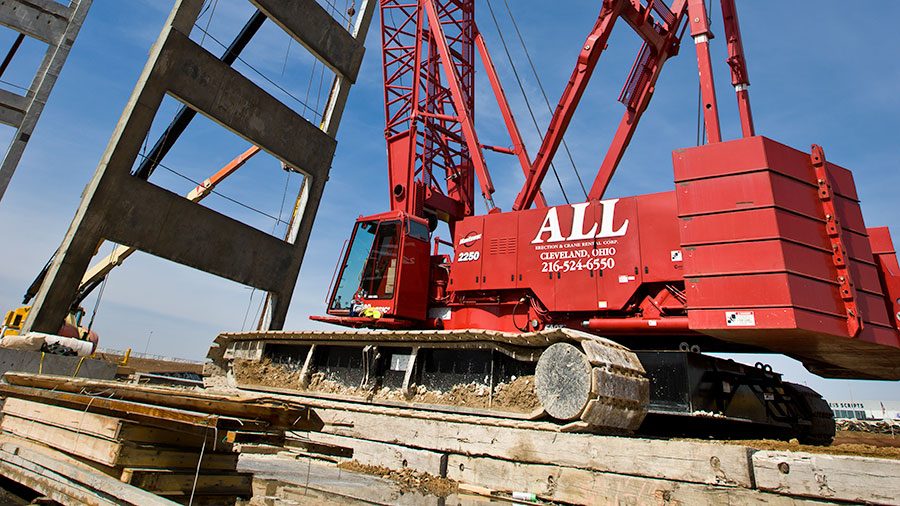 Cranes and Ground Bearing Pressures