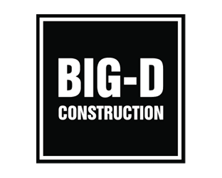 Logo for Big-D Construction