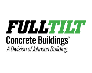 Logo for Fulltilt Concrete Buildings, a division of Johnson Building