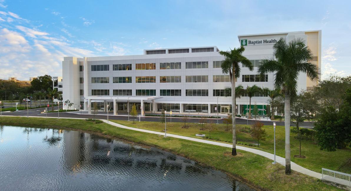 Main banner image for Baptist Health South Florida Plantation