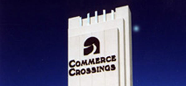 Main banner image for Commerce Crossings Sign