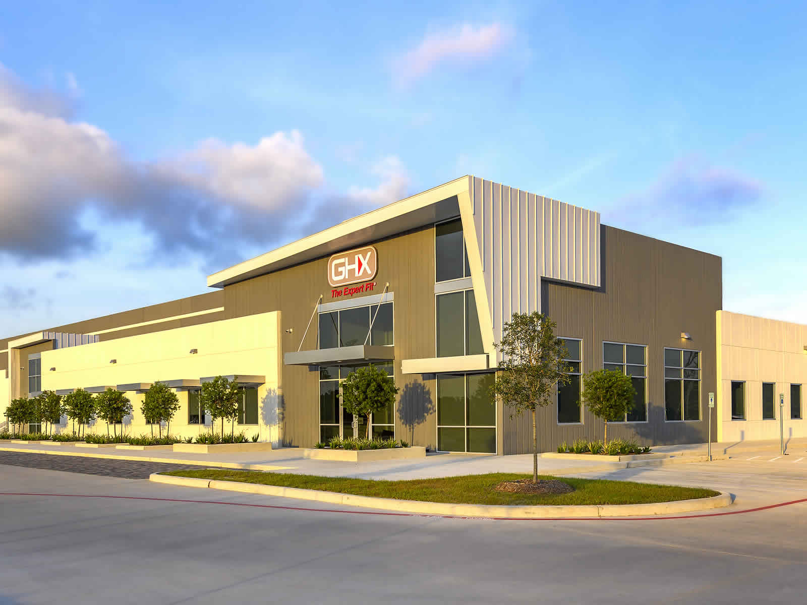 Main banner image for GHX Industrial Building