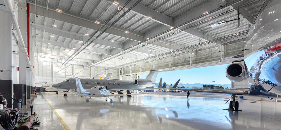 Main banner image for Jet Aviation & Gulfstream Hangars
