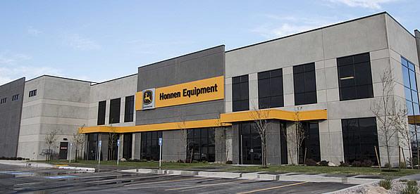 Main banner image for Honnen Equipment Building