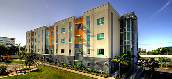 Main banner image for Johnson Wales University Biscayne Commons Residence Hall