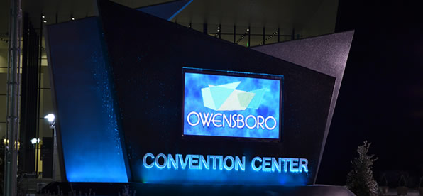 Main banner image for Owensboro Convention Center Entry Sign