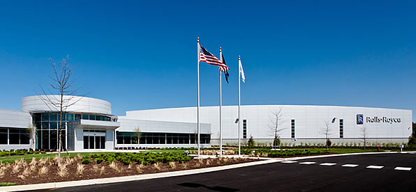 Main banner image for Rolls-Royce Crosspointe Rotatives Facility