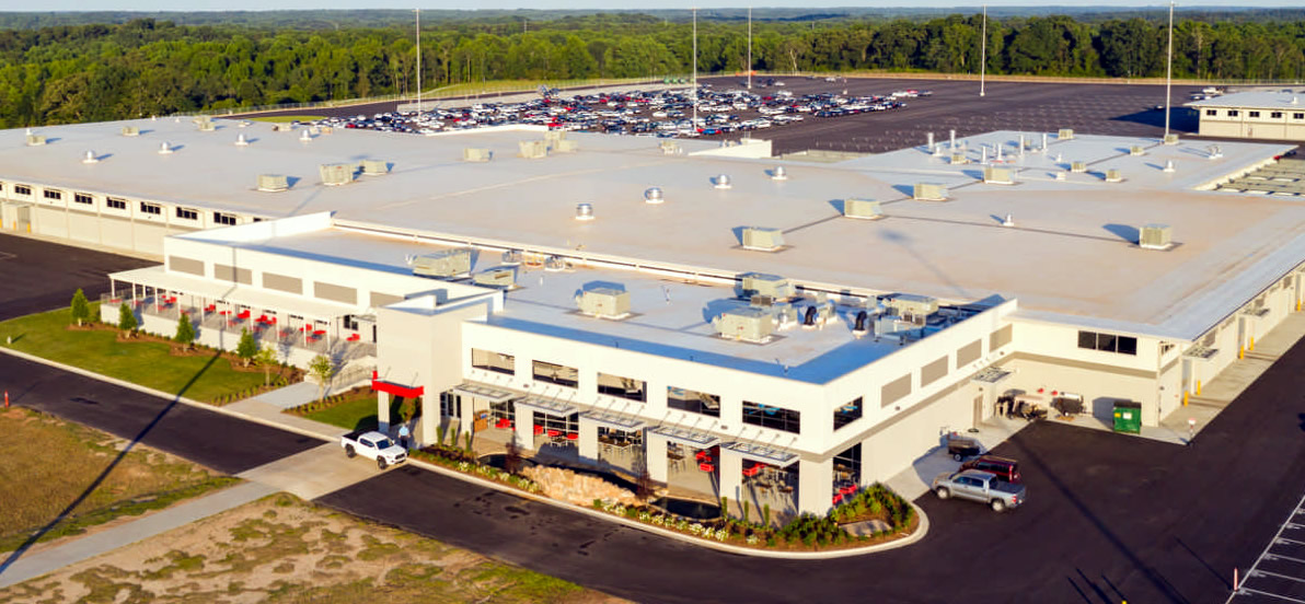 Main banner image for Southeast Toyota Vehicle Processing Facility