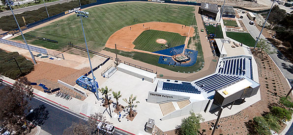 Main banner image for Triton Ballpark and Marye Anne Fox Clubhouse