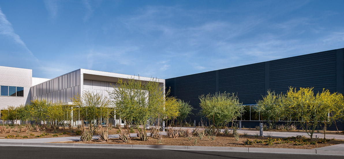 Main banner image for ViaSat Offices, Labs & Parking Structure at ASU Research Park