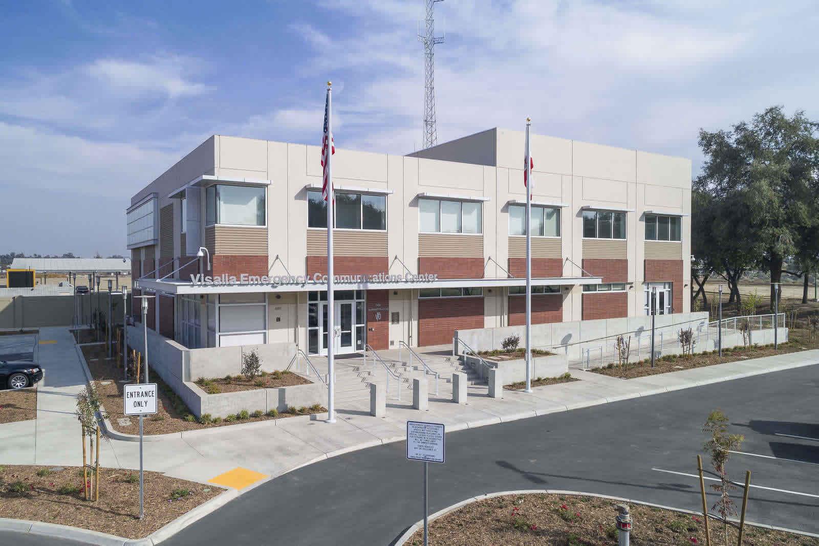 Main banner image for Visalia Emergency Communications Center