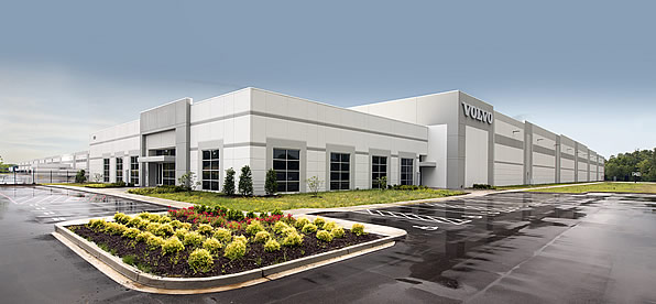 Main banner image for Volvo Distribution Facility