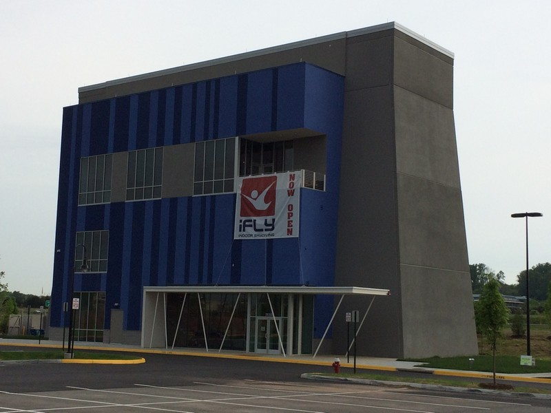 Project Profile: iFly Indoor Skydiving   Tilt-up Concrete